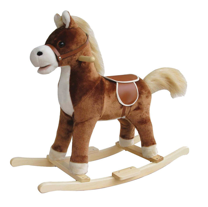 New Classic Toys Rocking Horse (Dark Brown)