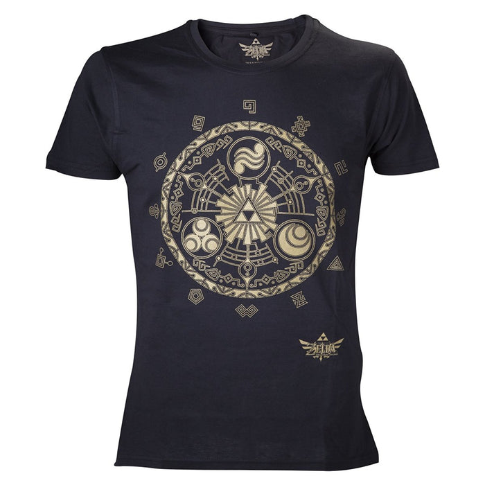Nintendo Legend of Zelda Classic T-Shirt (M, Black)