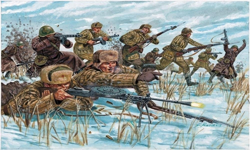 1/72 Russian Infantry Winter