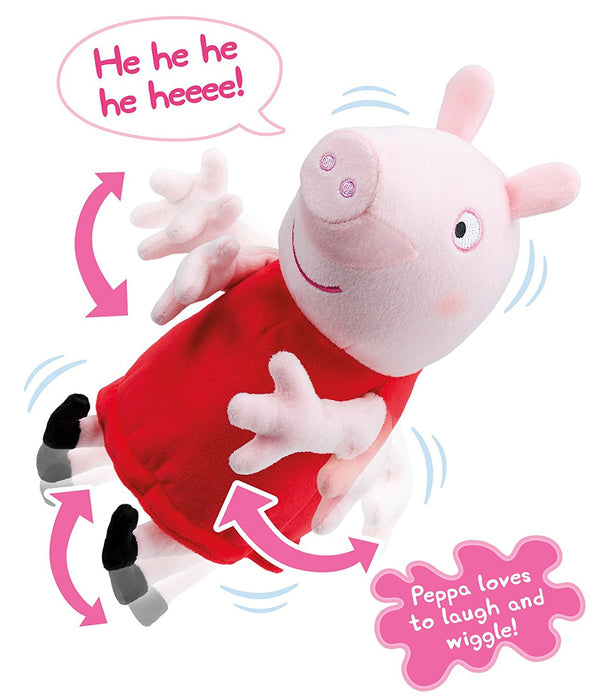 "Peppa Pig 06161 ""Laugh with Peppa"" Plush Toy"