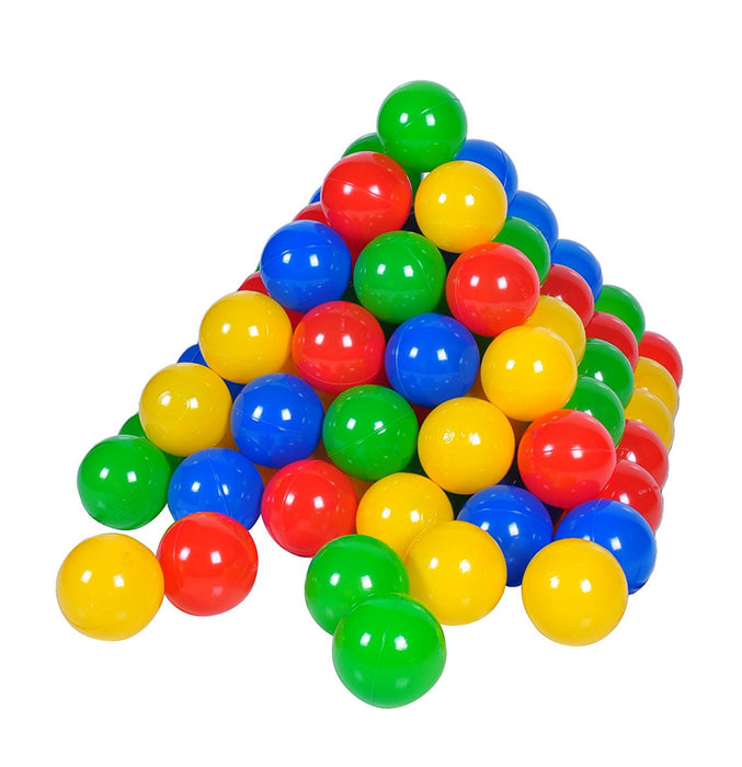 Pack of 100 balls, 6 cm Ø