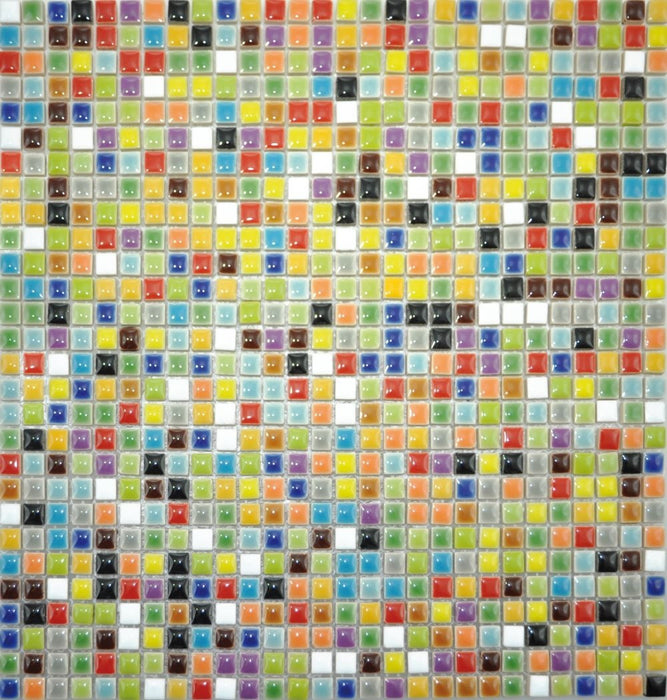 Playbox 10 x 10mm Assorted Porcelain Mosaic (784 Pieces)