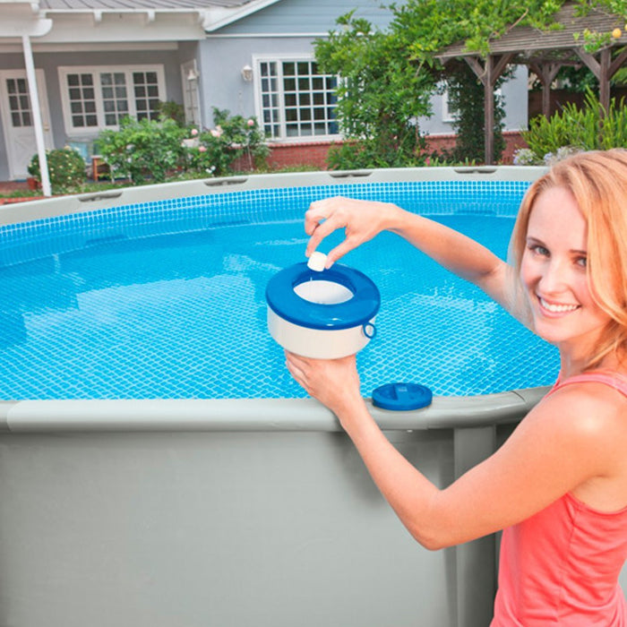 Intex Swimming Pool and Spa Large Floating Chemical Dispenser (Bromine and Chlorine) #29041