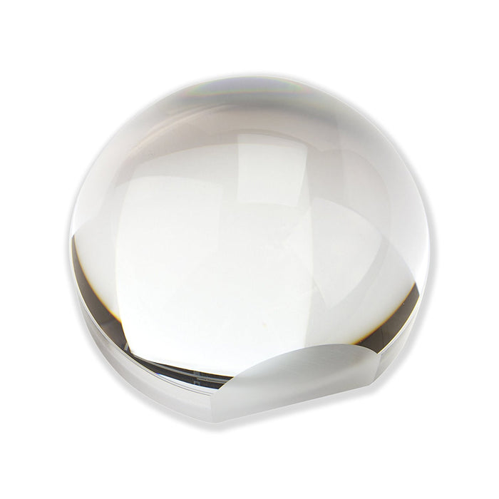 Carson 2x LumiDome Plus Polished Ball Loupe with 75mm Base