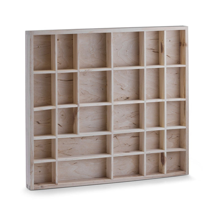 Zeller 12116 Souvenir Shelf 45 x 3.5 x 40 cm Pine Natural