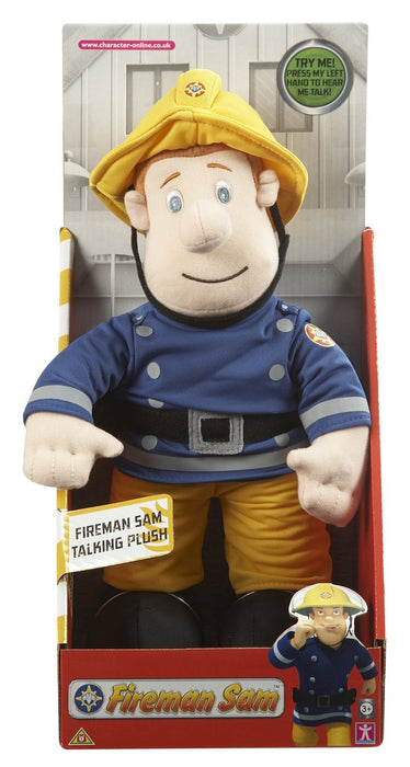 Fireman Sam Talking Plush Toy