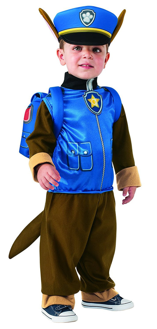 Rubie's Official Child's Paw Patrol Chase Costume - Small 3-4 Years