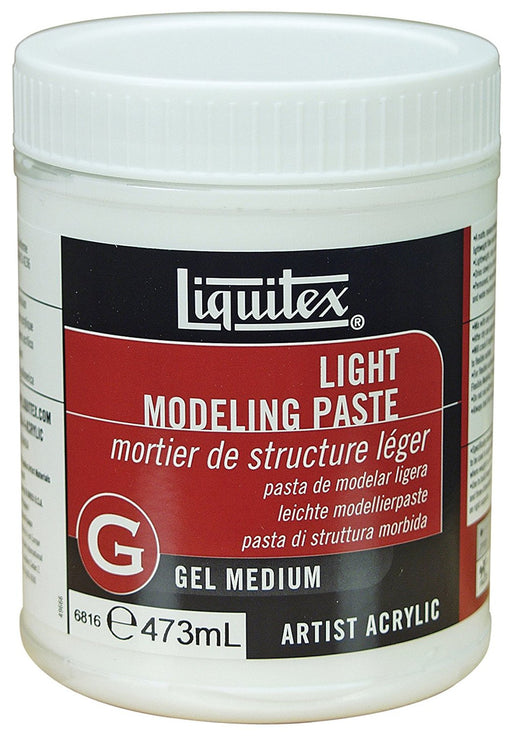 Liquitex Professional 6816 Light Modelling Paste, 473 ml