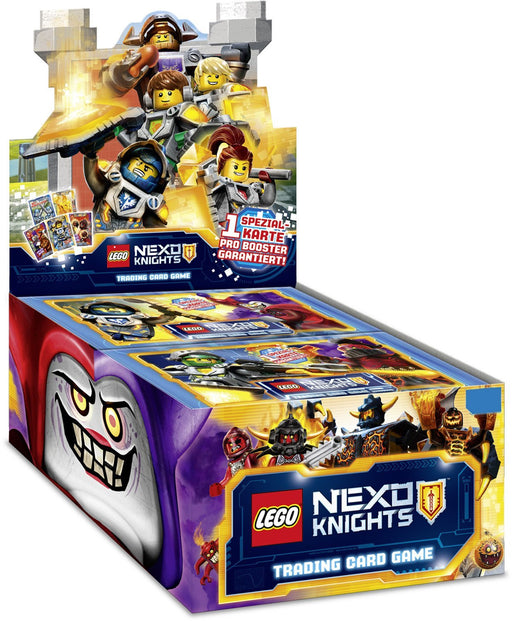 LEGO 701007B Collector Cards Nexo Knights, Display Box of 50 Boosters