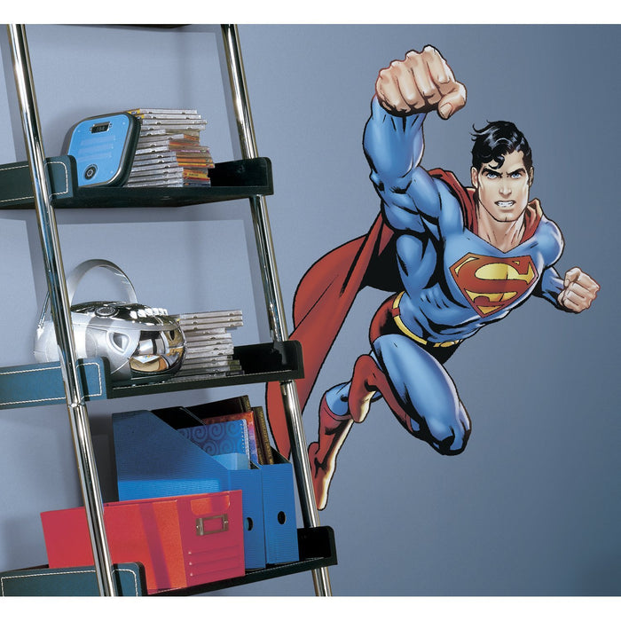 RoomMates RMK1156GM Superman: Day Of Doom Peel & Stick Giant Wall Decal