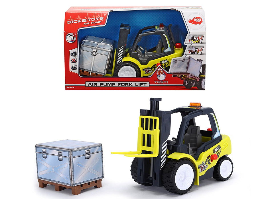 "Dickie Toys ""Air Pump"" Fork Lift (Multi-Colour)"