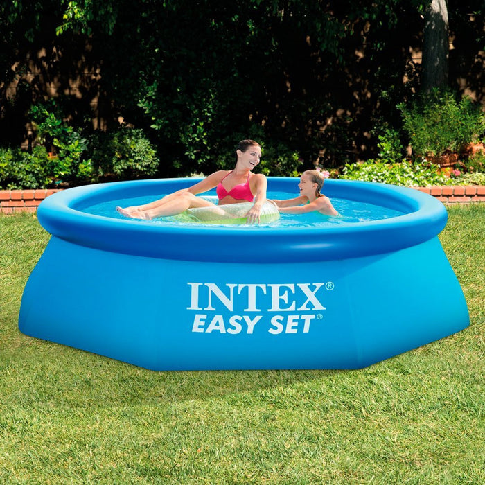 Intex Easy Set Pool without Filter - Blue, 8' x 30""