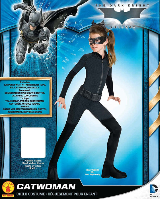Rubie's Official DC Comics Batman Catwoman, Children Costume - Large 8-10 Years