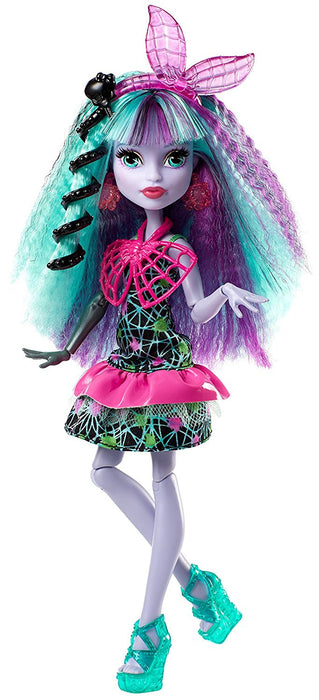 Monster High DVH71 Electrified Monstrous Hair Ghouls Twyla Doll