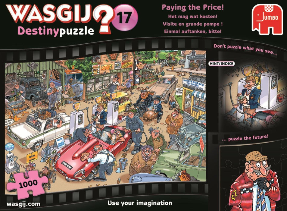 Wasgij 19141 Destiny 17 Paying The Price! Jigsaw Puzzle (1000-Piece)
