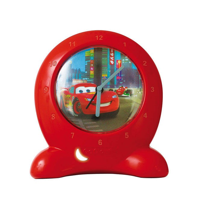 Disney Cars Go Glow Clock Bedtime Trainer - Red