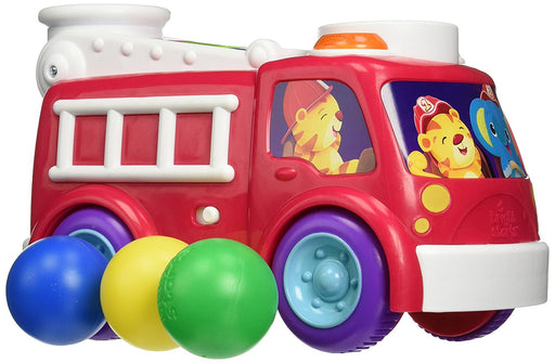 Bright Starts Having A Ball Fire Truck and School Bus Toy