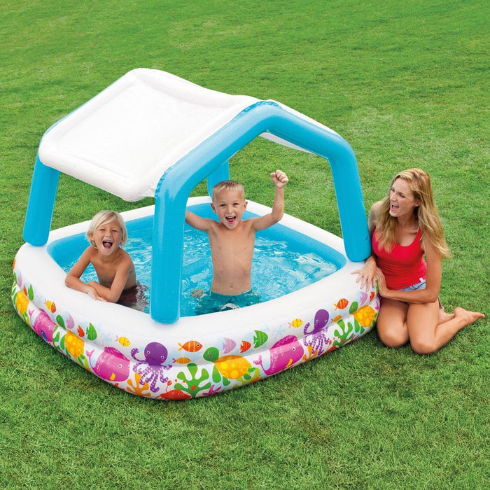 John Adams 62 x 62-Inch Sun Shade Pool