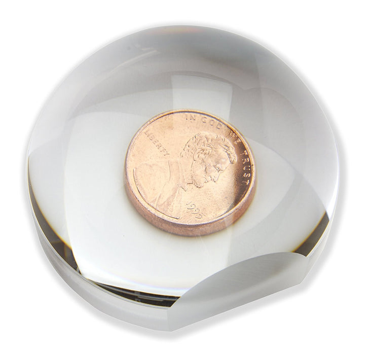 Carson 2x LumiDome Polished Ball Loupe with 60mm Base