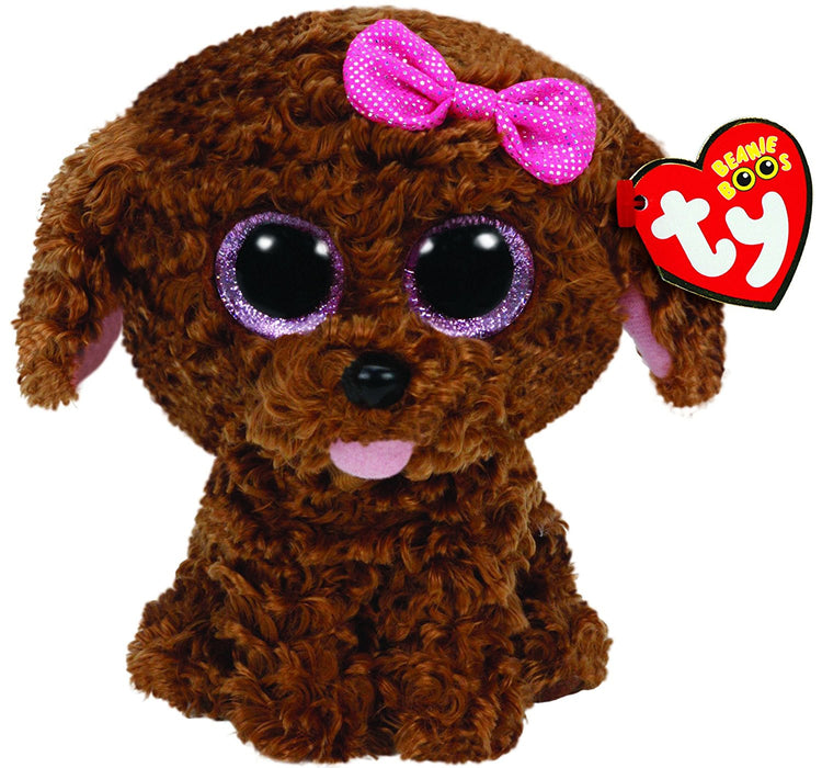 TY Beanie Boo Plush - Maddie the Brown Dog 15cm