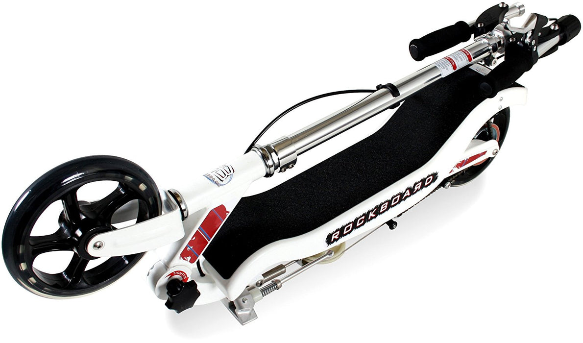 Rockboard Original Scooter - White, Above 8 Years