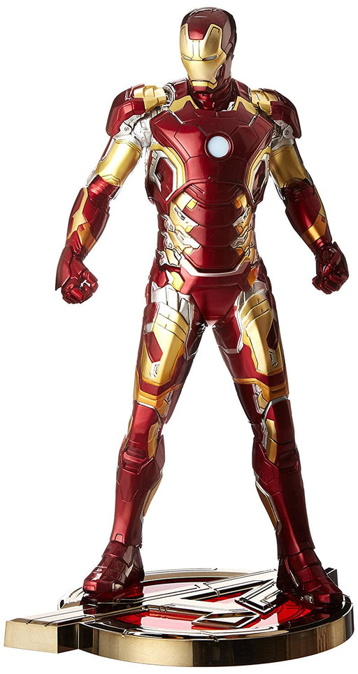 "Kotobukiya 1:6 Scale ""Avengers Age of Ultron Iron Man Mk 43"" Artfx Statue (Red/Gold)"