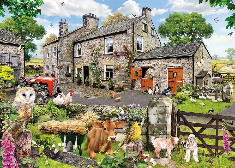 Gibsons 1000 Pieces Farmyard Friends Jigsaw Puzzle