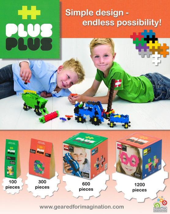 Plus-Plus Mini Basic (600 Pieces)