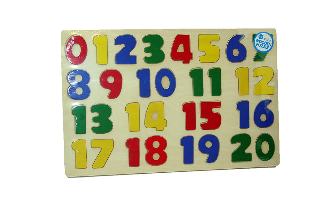 A to Z Wooden Number Puzzle