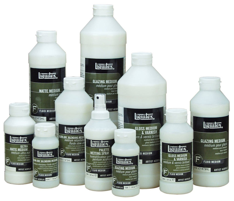 Liquitex 5008 Professional Gloss Fluid Medium and Varnish - 237 ml