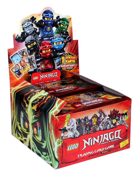 Top Media 176395D Collector Cards Lego Ninjago Series II 50 Booster in Display