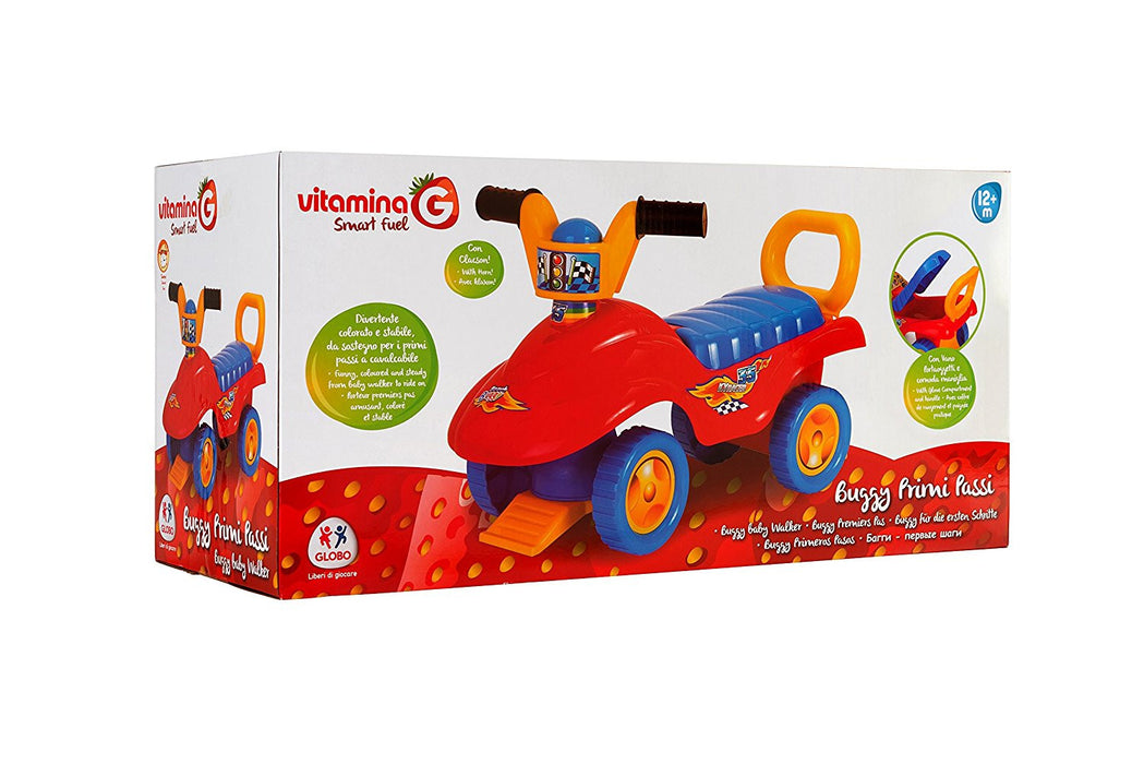 Globo Toys Globo - 5114 Vitamina_G Ride on Buggy Toy with Handle