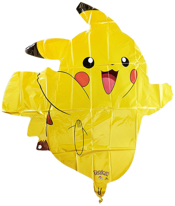 "Amscan International 2946001 24-Inch ""Pokémon Pikachu Super Shape"" Foil Balloon (X-Large)"