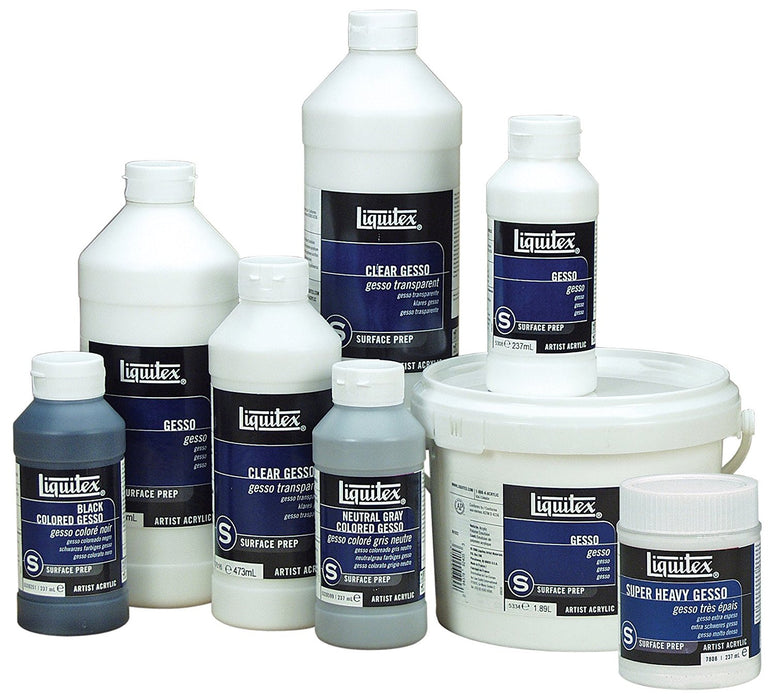 Liquitex Professional Super Heavy Gesso Surface Prep Medium, 946 ml