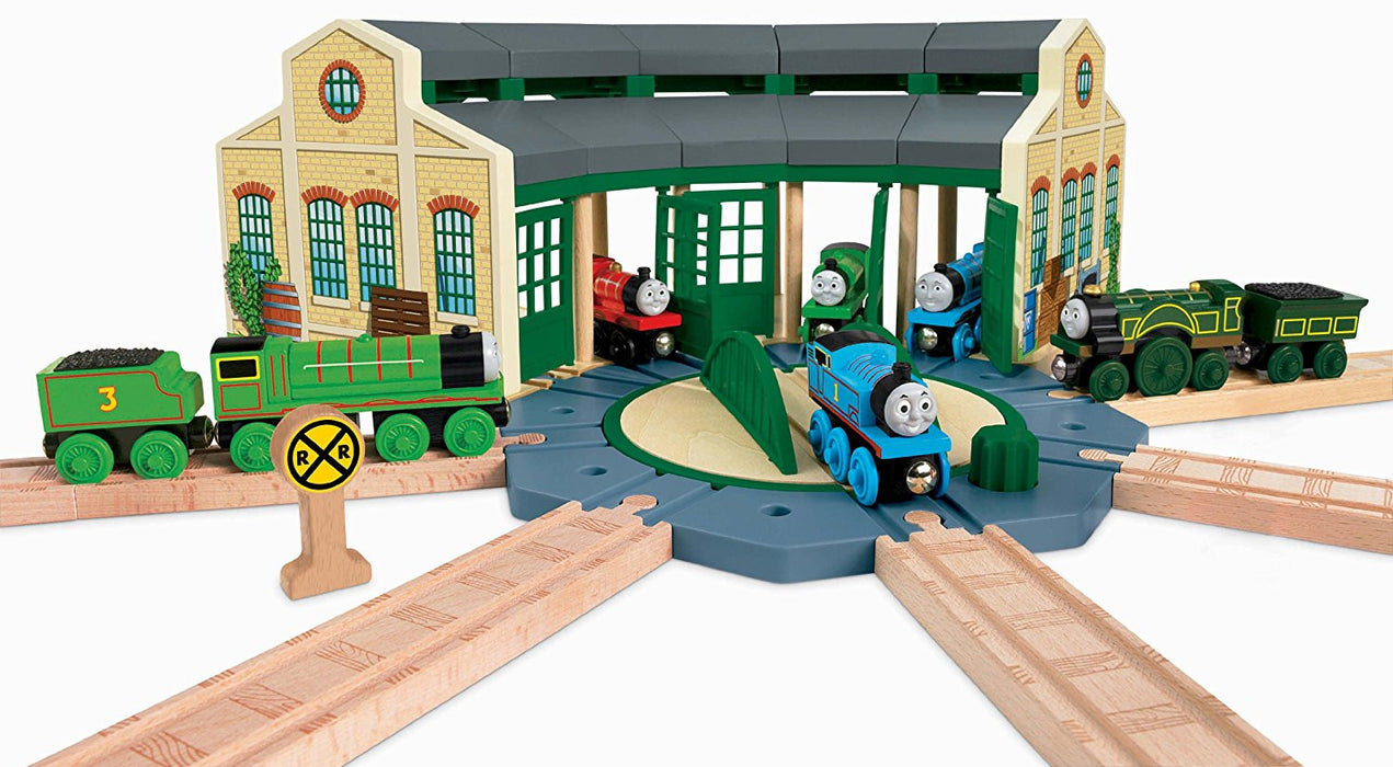 Thomas & Friends Wooden Railway Tidmouth Sheds Set