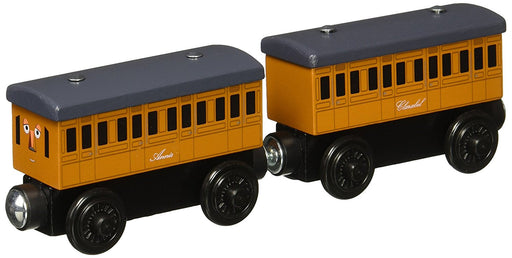 Thomas & Friends Wooden Railway Annie and Clarabel Engine Set