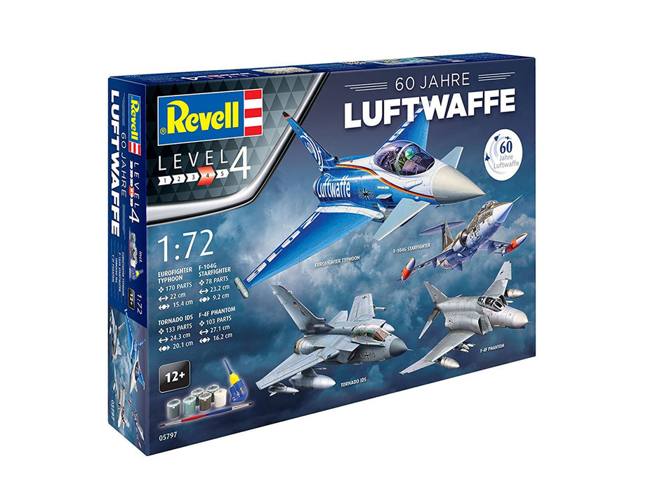 Revell 05797 60 Years 1: 72 Scale Aircraft Gift Set