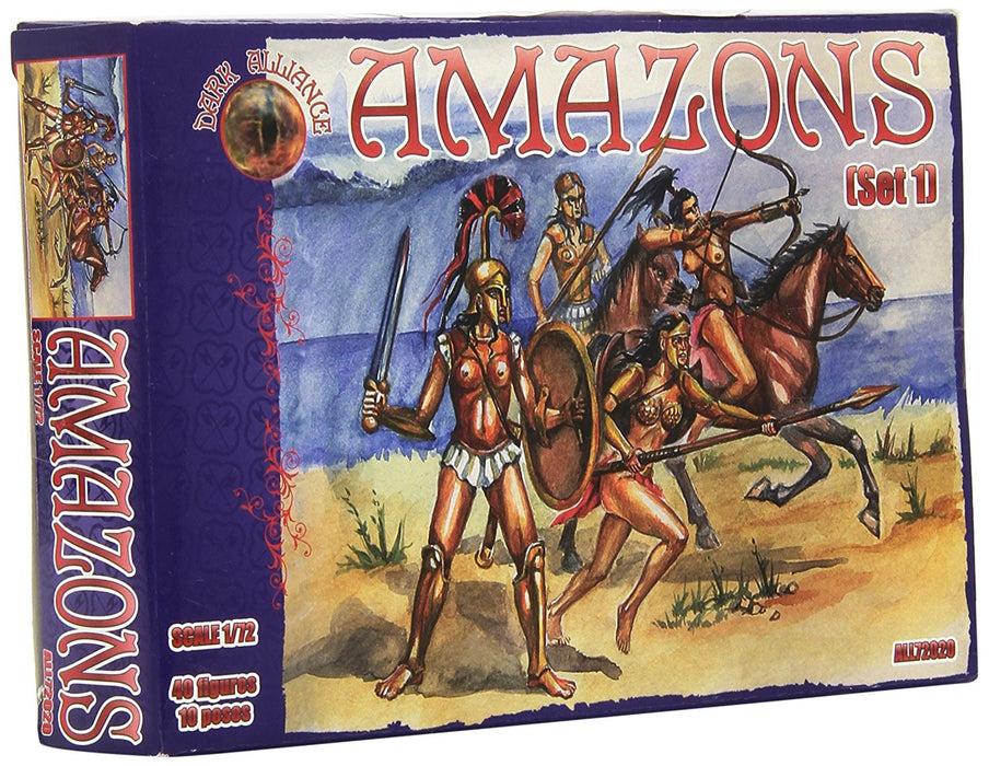 Alliance ALL72020 - Model Kit Amazons Set1
