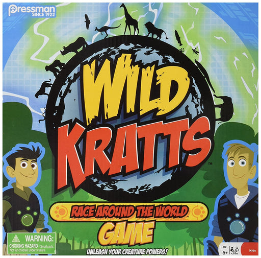 Wild Kratts Race Around the World Board Game