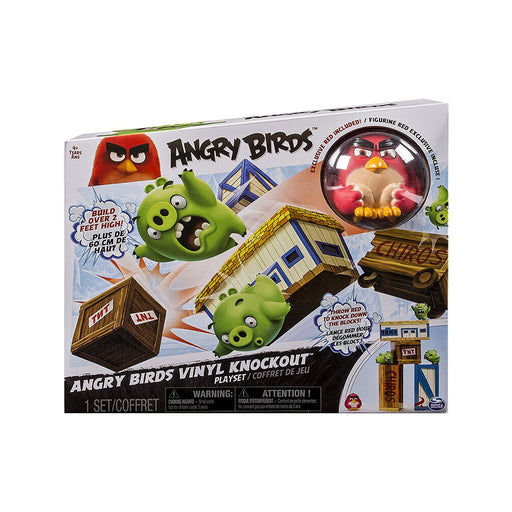 Angry Birds Vinyl Knockout Play Set