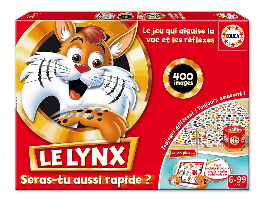 Educa – 16042 – Educational board game - Lynx 400 Images with Application [instructions may not be in English]
