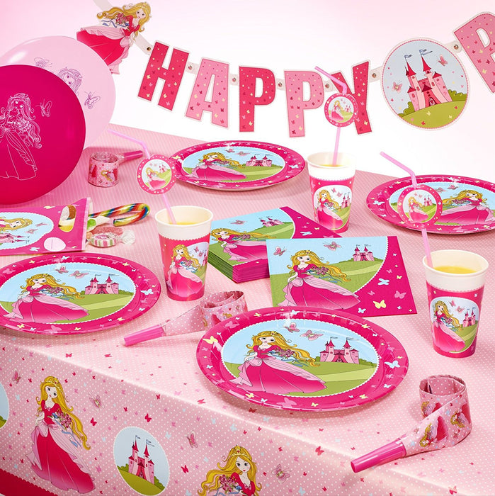 'SUSY CARD 11450558 - Princess Party Blowouts, pack of 6