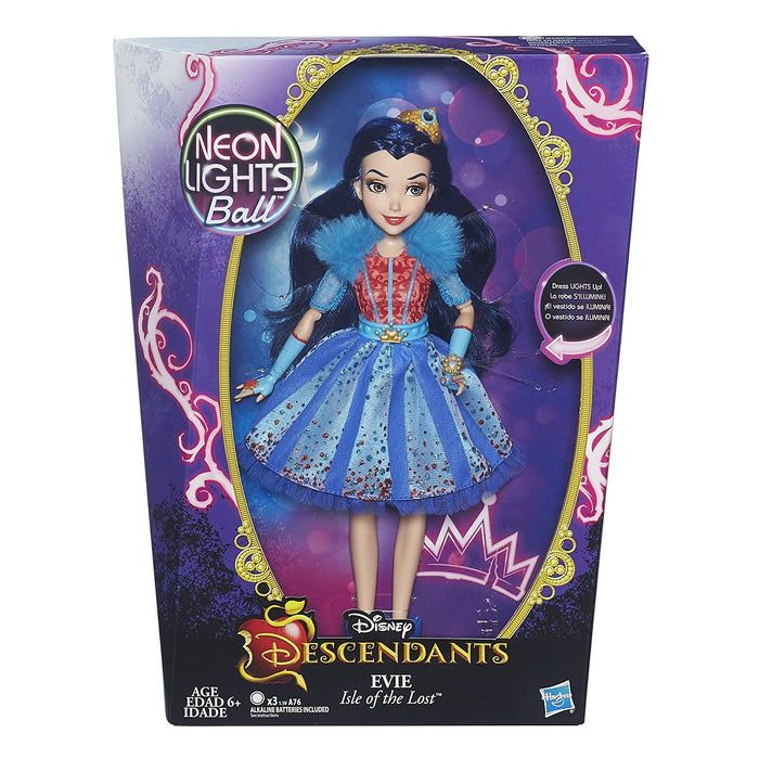 Disney Descendants Neon Lights Feature Evie of Isle of the Lost