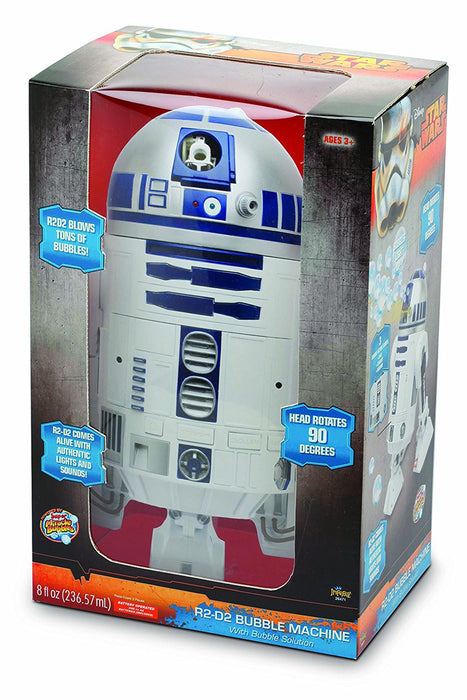 "Goliath 32858 ""R2-D2 Bubble Maker"" Creative Toy"