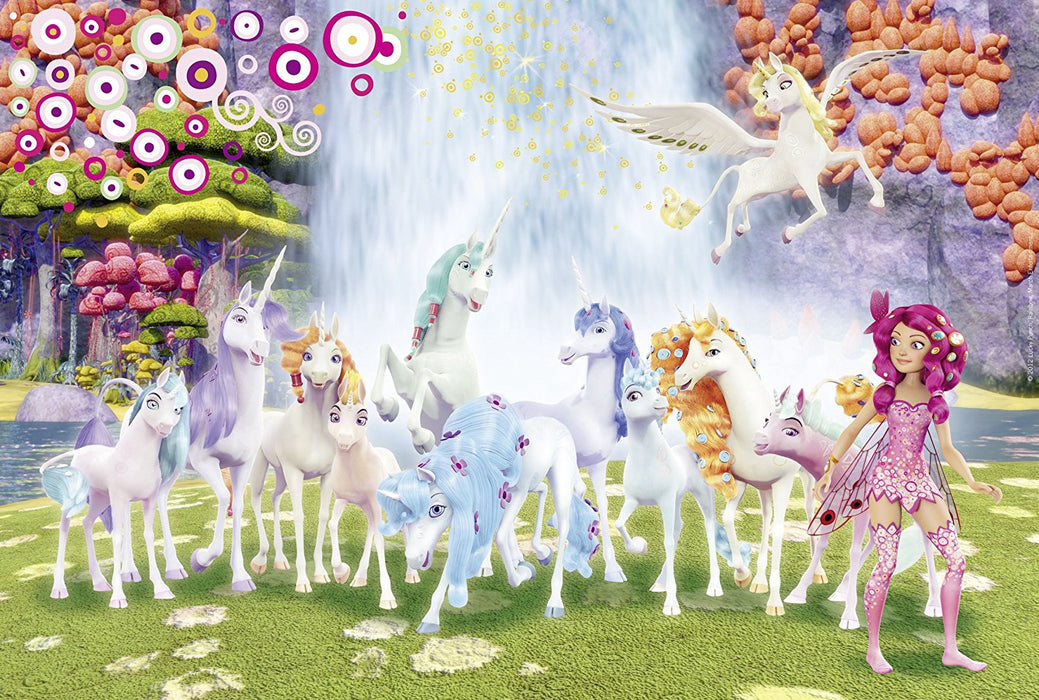 Schmidt Spiele Mia and me, Centopia Unicorns, 56033 Jigsaw Puzzle (100 Pieces)