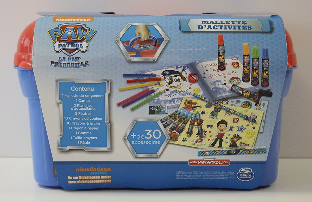 Canal Toys Paw Patrol Case Creative Activity Pack