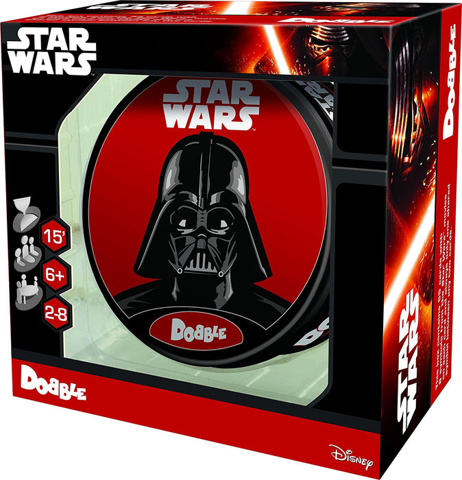 "Asmodee Editions ASMDOBSW01EN ""Dobble Star Wars"" Game"