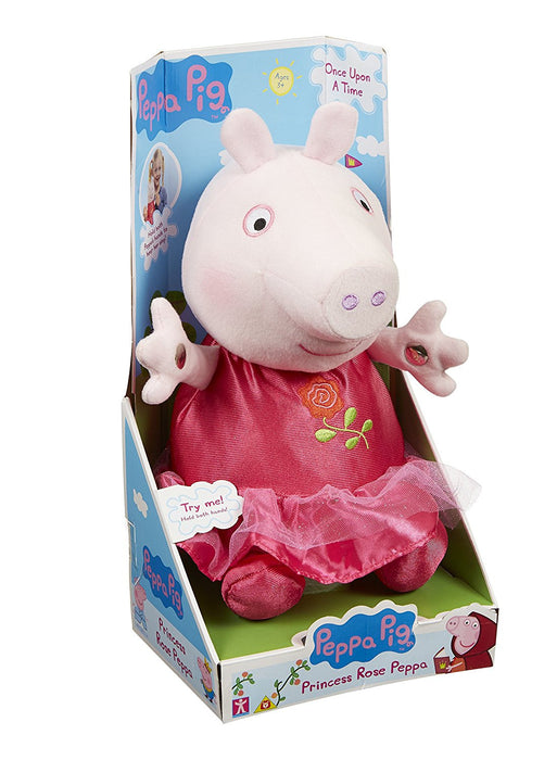 Peppa Pig Once Upon a Time Princess Rose Plush Toy