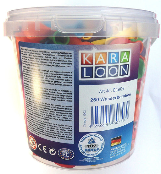 Karaloon 250-Water Bombs Bucket (Assortment)
