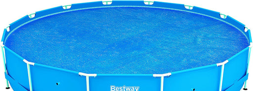 Bestway Steel Frame Solar Pool Cover - 15 feet, Blue
